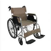 Scaun cu rotile pliabil din aluminiu FA 13