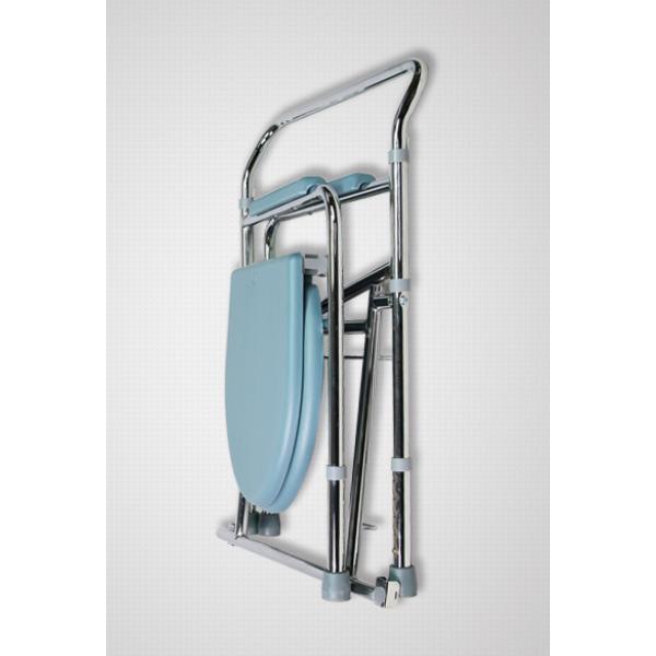Scaun toaleta din aluminiu ( comoda WC de camera ) CM 02 F