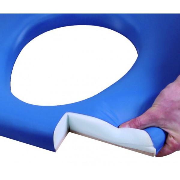 Scaun WC (toaleta de camera) pentru persoane supraponderale CM 08 F